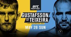Odliczanie do UFC Fight Night 109: Alexander Gustafsson vs. Glover Teixeira  |  FIGHT24.PL - MMA i K-1, UFC