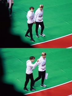 ISAC 2017, when Yoonseok/Sope held hands with interlocked fingers and didn't give a f*** what people thought!