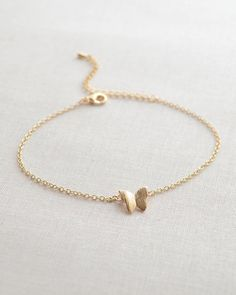 Butterfly bracelet - gold or silver butterfly bracelet - 2152