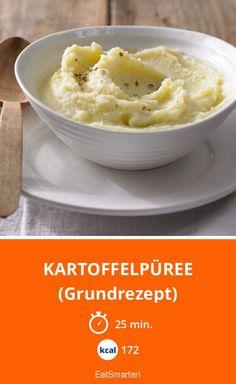 Kartoffelpüree - (Grundrezept) - smarter - Kalorien: 172 Kcal - Zeit: 25 Min. | eatsmarter.de
