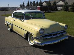 Chevrolet Bel Air 1954. Maintenance/restoration of old/vintage vehicles: the material for new cogs/casters/gears/pads could be cast polyamide which I (Cast polyamide) can produce. My contact: tatjana.alic@windowslive.com