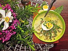 Gosia gotuje: Tradycyjna zupa szczawiowa