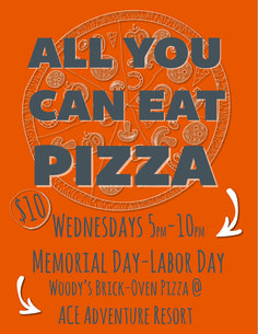 Starts June 1! All You Can Eat Pizza!