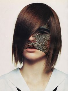 Voodoo Queens; Facial Masks Doodled By Illustrator Nina Chakrabati.