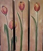 Anton Alberts Art studio and Canvas Factory - Art Framed Prints, Canvas Prints, Tulips, 3 Piece, Greeting Cards, Tapestry, Gallery, Artist, Artwork