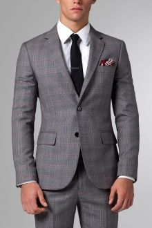 The Flapper Trap Gray Plaid Suit | Indochino