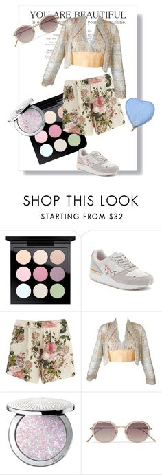 """""""pastel pleasure"""" by parisingham ❤ liked on Polyvore featuring MAC Cosmetics, Ted Baker, VILA, Guerlain, Linda Farrow and Aspinal of London"""
