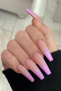 60 Elegant Coffin Nail Art Designs Coffin nail designs are very popular througho. Simple Acrylic Nails, Summer Acrylic Nails, Best Acrylic Nails, Summer Nails, Colorful Nails, Acrylic Nail Designs Coffin, Easy Nails, Spring Nails, Coffin Shape Nails
