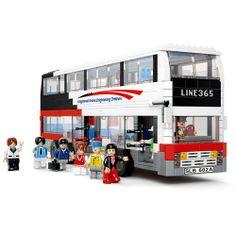 Sluban Double Decker Bus 741 Pcs-TB0335 - For Boys-2013 Xmas Gift Guide - TopBuy.com.au