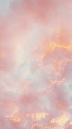 jennxpaige ♔ - Sky and Clouds - Wallpaper Pastell Wallpaper, Cloud Wallpaper, Cute Wallpaper For Phone, Iphone Background Wallpaper, Tumblr Wallpaper, Peach Wallpaper, Glitter Wallpaper, Pastel Wallpaper Backgrounds, Good Vibes Wallpaper