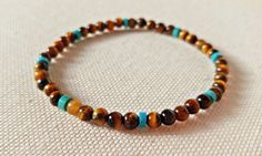 Check out this item in my Etsy shop https://www.etsy.com/ca/listing/510882843/4mm-tigers-eye-bracelet-mens-chakra