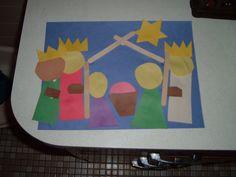 The Purple Pocket: Nativity Craft