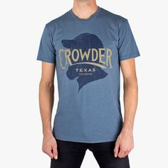 'Crowder, Texas' T-Shirt | Crowder official storefront powered by Merchline