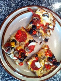 Greek Pizza – Low Carb and Gluten Free