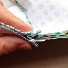 Zippered pouch with zipper ends (excellent tutorial on how to avoid dented corners)