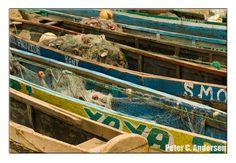 Fishing boats and nets at Kent.