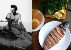 fantastic site about famous writers and their favorite foods (recipes included!)