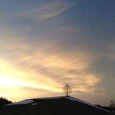 Emmental on Instagram  #tree #hill #forest #snow #winterime #december #cloud #clouds #cloudporn #skyporn #sky #heaven #afterglow #sunset #peaceful #emmental #switzerland #bern #igersbern #igersuisse #suisse #swiss - @___linda_ Switzerland Bern, December, Shots, Heaven, Hipster, Clouds, Sky, Sunset, Pictures