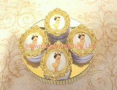 Princess Oreos #brownsugarpastries #homemadetreats #chocolatecoveredoreos #edibleimage #BSP #princesstheme