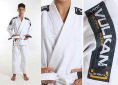 Vulkan Ultra Light Kids Jiu-Jitsu Gi WHITE 32278 bjj grappling IBJJF judo youth