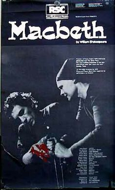 RSC Macbeth Dench/McKellen 1976