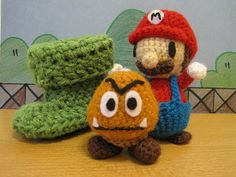 The elusive Green Goomba Shoe appears! - TOYS, DOLLS AND PLAYTHINGS