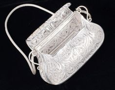 Bag,  made of silver