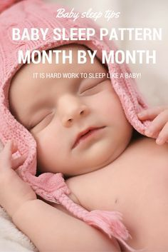 Easy Guide To Your Baby's Sleep Pattern Month By Month