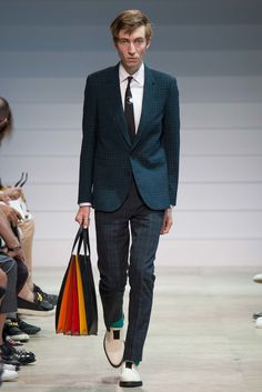 Paul Smith Spring 2016 Menswear Fashion Show