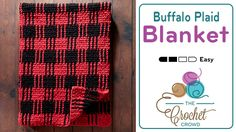 Crochet Afghans Easy Crochet Buffalo Plaid Blanket Tutorial - The Crochet Crowd - Crochet Buffalo Plaid Blanket Whoa, I would have never expected this blanket, the Crochet Buffalo Plaid Blanket, to be crocheted Crochet Afghans, Afghan Crochet Patterns, Baby Blanket Crochet, Newborn Crochet, Crochet Stitches, Knitting Patterns, Buffalo Plaid Blanket, Plaid Crochet, Crochet Simple