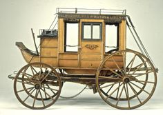 Hack Passenger Wagon, ca. 1870. Abbot-Downing Company, Concord, New Hampshire. The Long Island Museum of American Art, History, and Carriages.