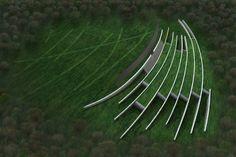 Stonehenge Visitor's Center concept image // Denton Corker Marshall