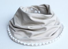 Baby Infinity Scarves, Handmade Baby, Baby Bibs, Creations, Fashion, Pom Poms, Hair, Headscarves, Cotton