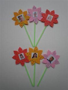 Afbeeldingsresultaat voor bloemen kleuters