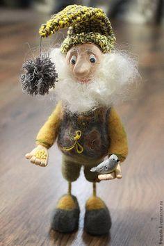 Купить Фадей Фадеич - серый, домовой, домовенок, сувениры и подарки, оригинальный подарок, подарок на новоселье