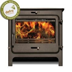 Stoves For Sale, Multi Fuel Stove, Wood Burning, Clarity, Leicester, Fireplaces, Cottage, Fireplace Set, Fire Places