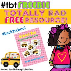FREEBIE for Back to School!   #tbtFREEBIE   #backtoschool #school #kampkindergarten #clipcards #free https://www.teacherspayteachers.com/Product/School-Bus-Count-and-Clip-Cards-Sets-to-10-1331469