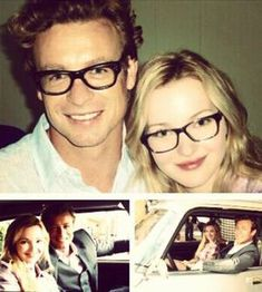 Simon Baker and Dove Cameron in the Mentalist Devil's Cherry. She was absolutely the most perfect choice to play Patrick's daughter! Simon Baker, Robin Tunney, Patrick Jane, The Mentalist, Dove Cameron, Best Series, Tv Series, Doctor Who, I Love Simon