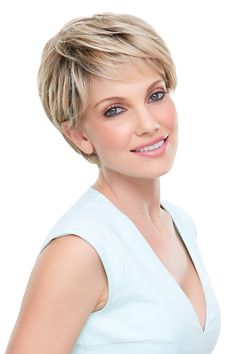 Looking for elegant synthetic, short wigs check out Anne Lace Front Wig by Jon Renau. Tight Curls, Loose Curls, Flat Iron Curls, Jon Renau, Wig Stand, Alternative Hair, Pin Curls, Short Wigs, Smooth Hair