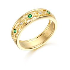 9ct Gold Claddagh Ring. One piece of traditional Irish Jewelry is the Claddagh Ring made by Irish Jeweller in Ireland. This ring is one of the most beautiful pieces of Irish jewellery available.