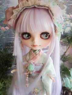 ☆ *: custom Blythe Readoru kimono妖桜Wasohime: * ☆ Admin - Auction - Rinkya! Japan Auction & Shopping