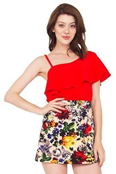 The Sugarlips Bed Of Roses Skirt is a floral printed body con skirt. Zipper closure. Price : $55.00 #MyLuluCloset #Sugarlips #Skirts