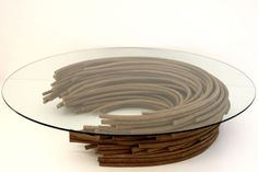 recycled cardboard objects by domingos totora.