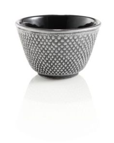 The hobnail design symbolizes strength, who knew? -  Cast Iron Hobnail Tea Cup