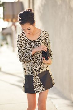I tried this on at JCrew and was on the fence about it but now that I saw what she did, I just might go back to get it! I love this blog! Check it out - wendyslookbook.com
