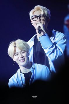 Jimin am Rap Monster