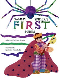 """The Shapiro family is getting ready for Purim. Josh is making a grogger to take to the synagogue Megillah reading. Sammy Spider wants to participate, but as Sammy's mother reminds him, """"Spiders don't celebrate holidays; spiders spin webs."""""""