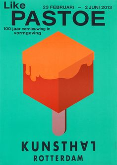 PASTOE kunsthal rotterdam poster