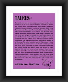 Taurus traits...good thing I also have some Gemini traits for balance!  Love it!