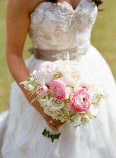 Bridal bouquet: http://www.stylemepretty.com/south-carolina-weddings/charleston/2014/10/07/elegant-ballroom-wedding-in-charleston/   Photography: Marni Rothschild - http://www.marnipictures.com/